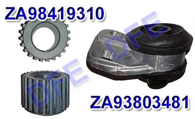 Pulley and transmission bearing for Daily