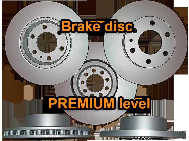 Premium brake disc