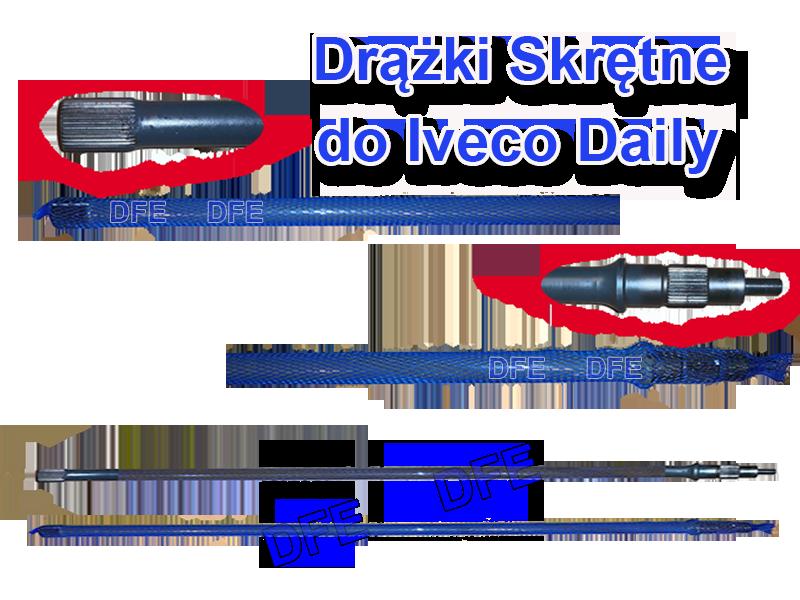 60170736 60170737 drążek skrętny do iveco daily